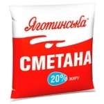 Yagotynska Sour Cream 20% 400g