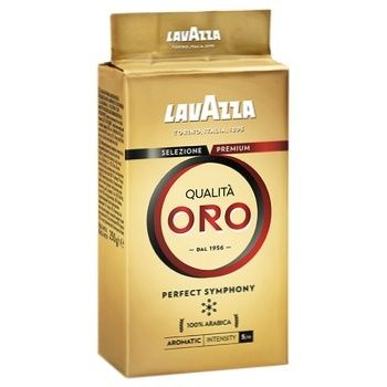 Кофе Lavazza Qualitа Oro молотый 250г - купить, цены на МегаМаркет - фото 1