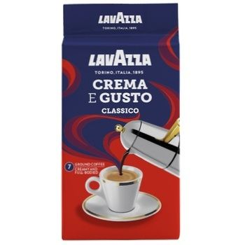 Ground coffee Lavazza Crema&Gusto PACK 250g - buy, prices for MegaMarket - image 2
