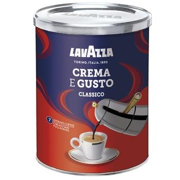 Кава Lavazza Крема Густо мелена з/б 250г