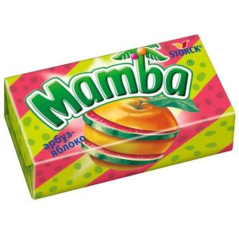 Mamba 2in1 lime chewing candy 26g - buy, prices for CityMarket - photo 3