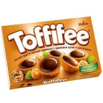Конфеты Тофифе лесной орех 125г - купить, цены на Novus - фото 1