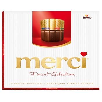 Конфеты Merci Асорті 250г - купить, цены на ЕКО Маркет - фото 2