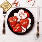 Серветки Luxy Романтична вечеря 33*33 20шт 3шар