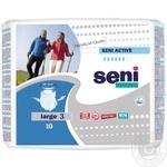Підгузки для дорослих SENI ACTIVE large 10 шт