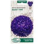 Семена Семена Украины Астра Пионовидная Виолет Турм 0,25г