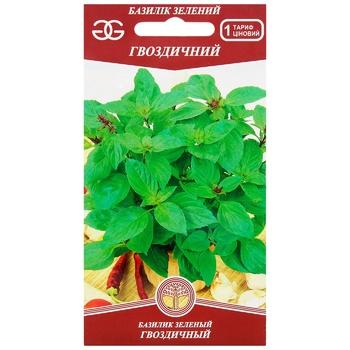 Семена Golden Garden Базилик зеленый Гвоздичный 0,5г