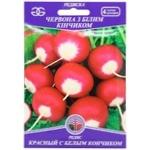 Семена Golden Garden Редис Красный с белым кончиком 20г