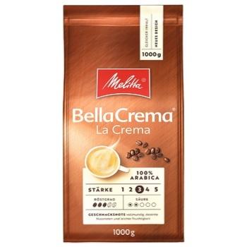 Кофе Melitta Белла крема Ла Крема в зернах 1кг
