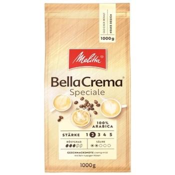 Кофе Melitta Bella Crema Speciale в зернах жареный 1кг