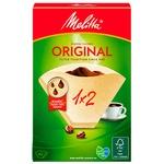 Бумажные фильтры для кофе Melitta® Original 1x2 40 шт