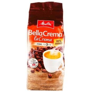 Melitta Bella Crema LaCrema Roasted Coffee Beans 500g