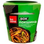 Katana Wok Vegetarian Noodles with Vegetables and Wood Mushrooms in Teriyaki Sauce 250g
