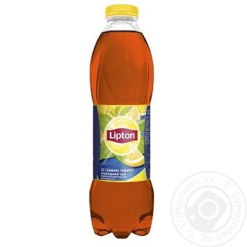 Чай черный холодный Lipton со вкусом лимона 1л - купить, цены на Фуршет - фото 1