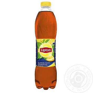 Lipton black ice tea with lemon 1,5l - buy, prices for Furshet - image 1