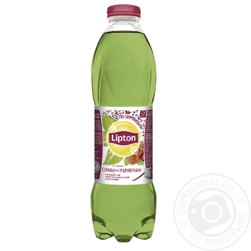 Чай зелений холодний Lipton Суниця та журавлина 1л - купити, ціни на Ашан - фото 1