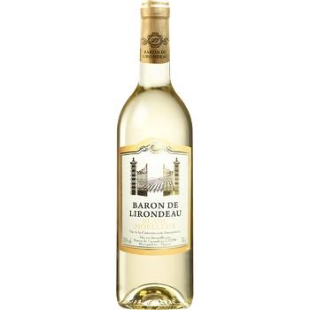 Вино Baron de Lirodeau біле напівсолодке 10.5% 750мл - купити, ціни на Восторг - фото 1