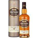 Віскі Glen Turner 12 років 40% 0,7л