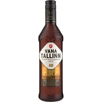 Ликер Vana Tallinn Original 40% 0,5л - купить, цены на Метро - фото 1