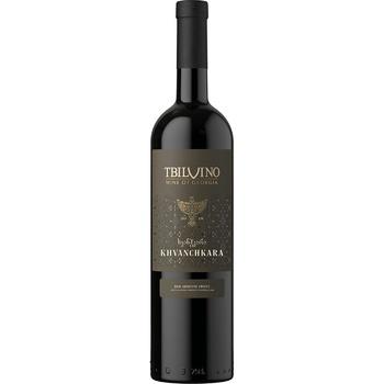 Вино Tbilvino Khvanchkara красное полусладкое 11% 0,75л
