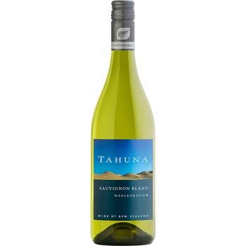 Tahuna Sauvignon Blanc white dry wine 12,5% 0,75l - buy, prices for MegaMarket - image 1