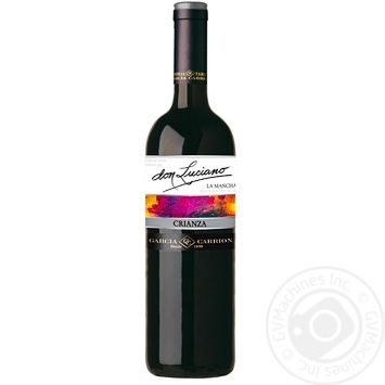 Don Luciano Crianza La Mancha Red Dry Wine 14% 0.75l - buy, prices for MegaMarket - image 1