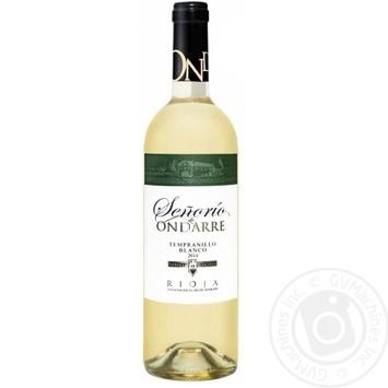 Senorio de Ondarre Rioja White Dry Wine 13% 0.75l - buy, prices for CityMarket - photo 1