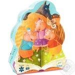 Djeco Three pigs for children puzzle