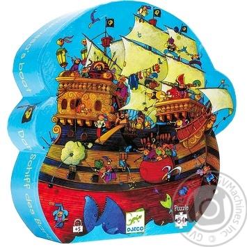 Пазли дитячі арт.DJ07241 DJECO Пазл 54 Корабль Барбадоса