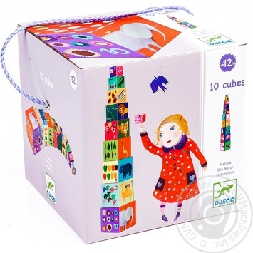 Djeco Cubes for children game