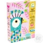 Художній комплект для малювання DJECO Сліпучі птахи арт.DJ08663