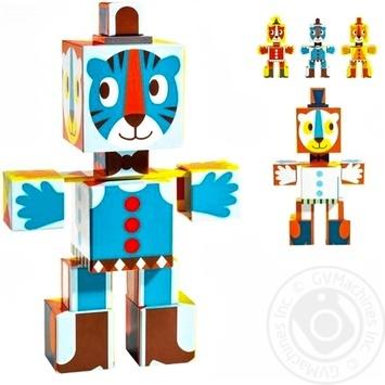 Іграшка DJECO Тотем кубики Графіка DJ09111*