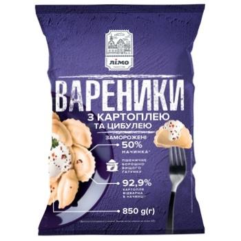 Вареники Лимо с картофелем/луком 850г - купить, цены на Фуршет - фото 1