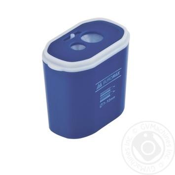 Точилка Buromax контейнер пластиковая 2 отверстия - купить, цены на Novus - фото 1