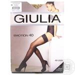Чулки Giulia Emotion daino женские 40ден 1/2р - купить, цены на Novus - фото 3