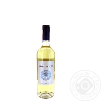 Вино Monte Olvido Organic белое 11% 0.75л - купить, цены на Ашан - фото 1