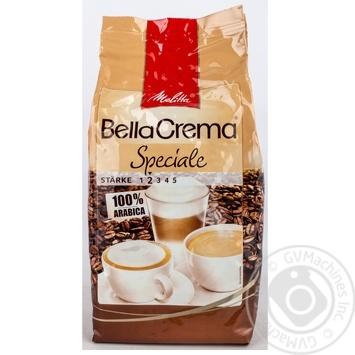 Кава БеллаКрема Спеціале натуральна смажена в зернах Мелітта 1000г - купити, ціни на Novus - фото 8