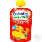 Пюре фруктовое Bebivita яблоко-персик-манго 90г