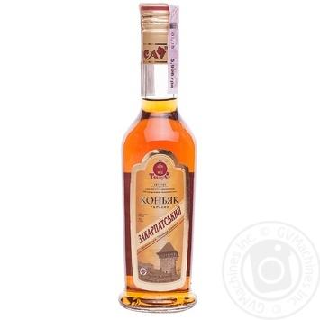 Tisa Zakarpatskiy 4 stars cognac 40% 0,25l