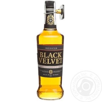 Виски Black Velvet 3 года 40% 0,7л - купить, цены на Novus - фото 5