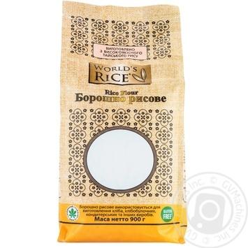 Мука рисовая World's Rice 900г - купить, цены на МегаМаркет - фото 2