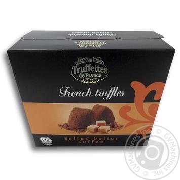 Конфеты Chocmod Truffettes de France трюфельные с кусочками соленой карамели 200г