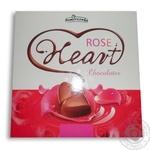 Конфеты шоколадные Pomorzanka Розовое сердце 130г