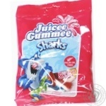 Цукерки жувальні акули Juicee gummee 80г