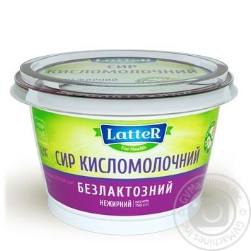 Сир кисломолочний LatteR нежирний безлактозний 150г - купити, ціни на Novus - фото 2
