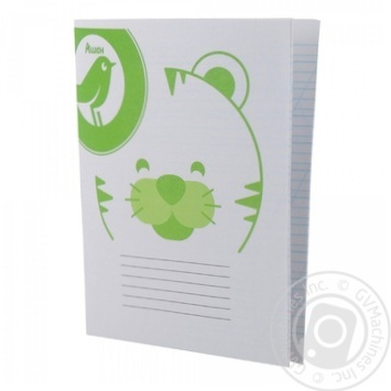 Notebook Auchan Auchan diagonal line 12pages - buy, prices for Auchan - image 1
