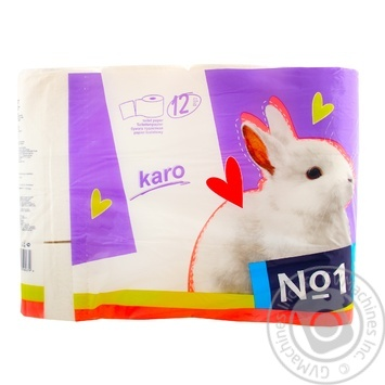 Toilet paper Karo white 12pcs - buy, prices for Novus - image 2