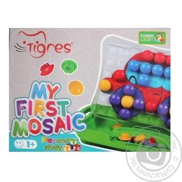 Tigres Educational Toy My First Mosaic - buy, prices for Tavria V - image 3