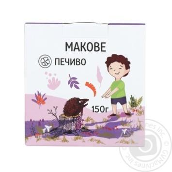 Печиво Кохана макове 150г - купити, ціни на МегаМаркет - фото 1