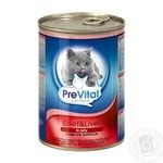 Food Prevital liver in jelly for pets 415g